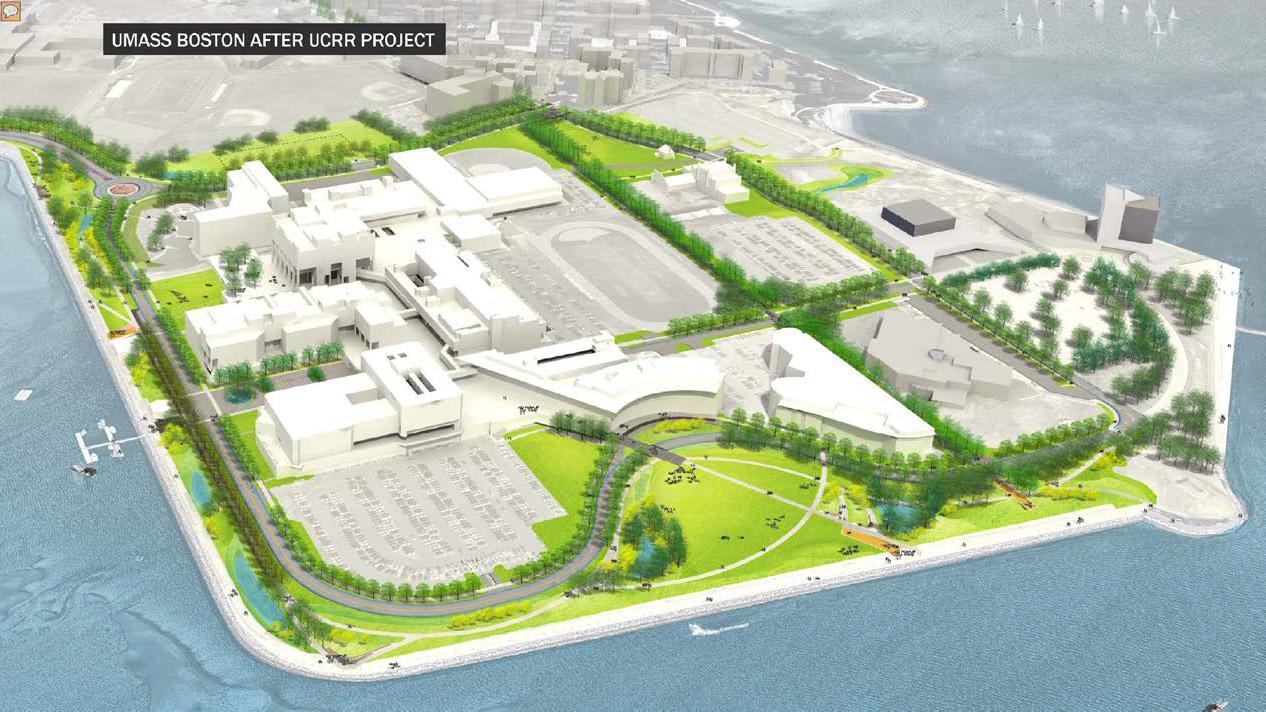 UMass Boston Utility Corridor & Roadway Relocation