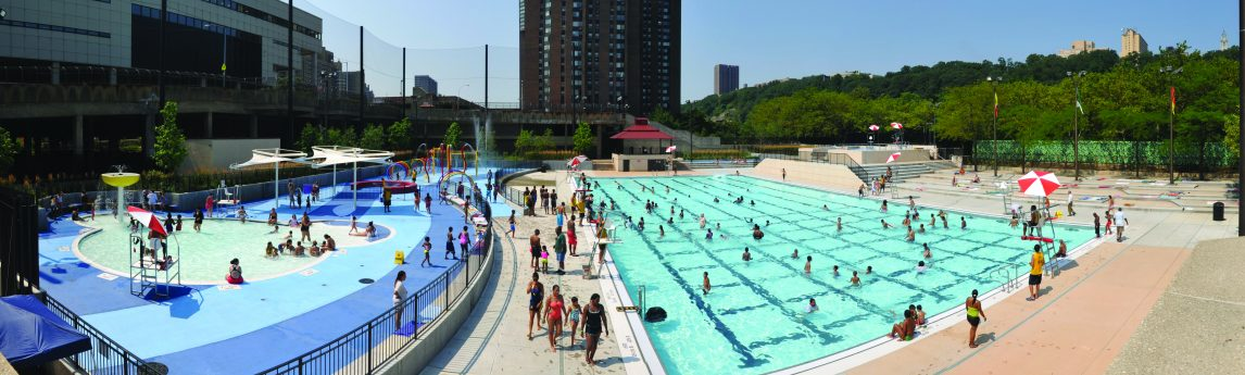 NV5 - Roberto Clemente State Park Aquatics Facility - Bronx, New York