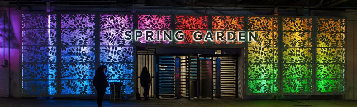 Design of the Spring Garden Street Connector