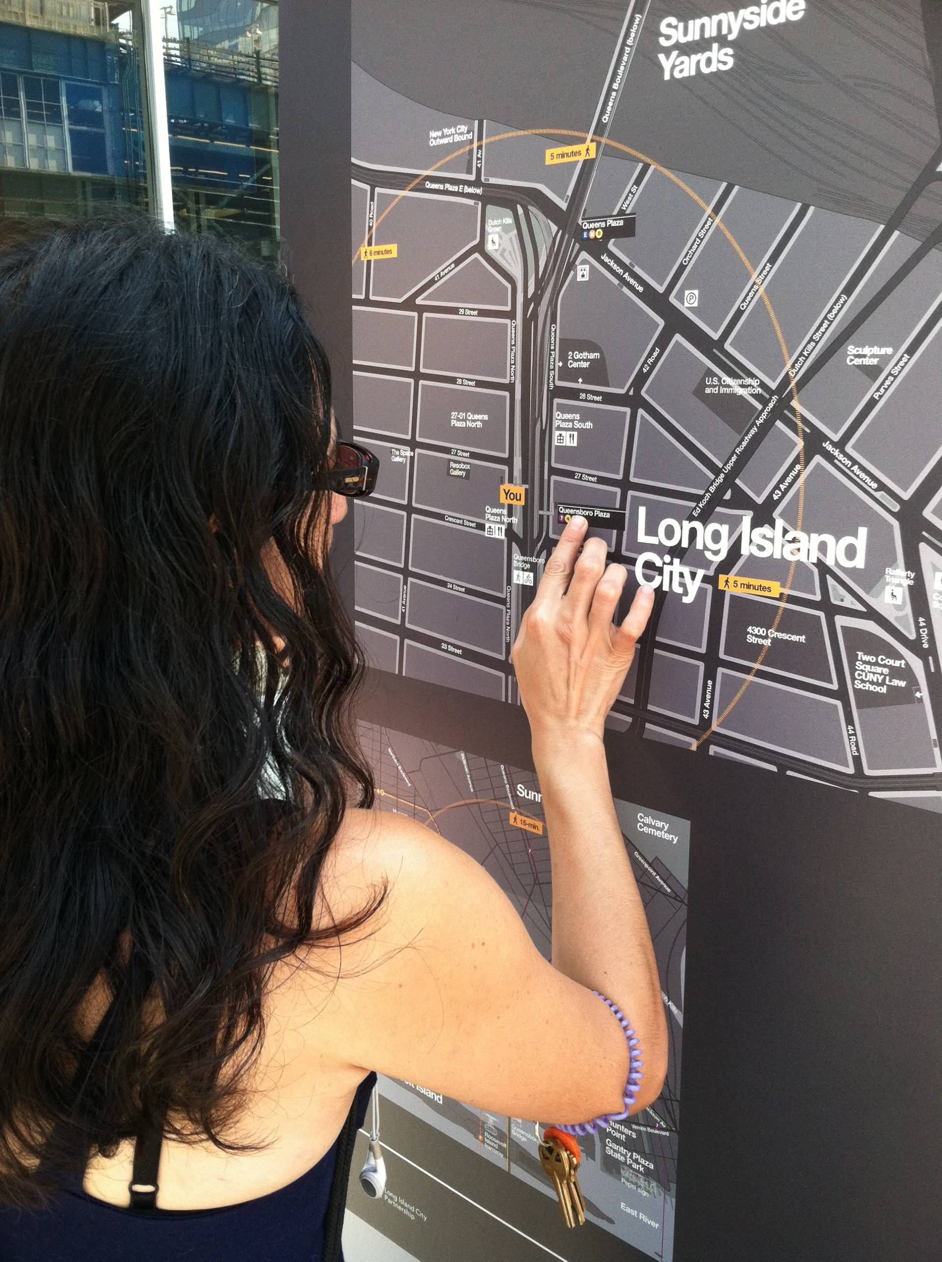 NYC Pedestrian Wayfinding System