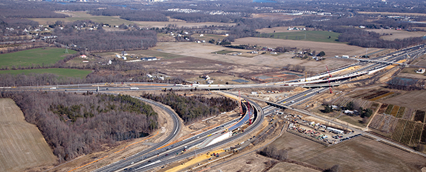 New Jersey Turnpike – Interchange 6 to 9 Widening, Section 1