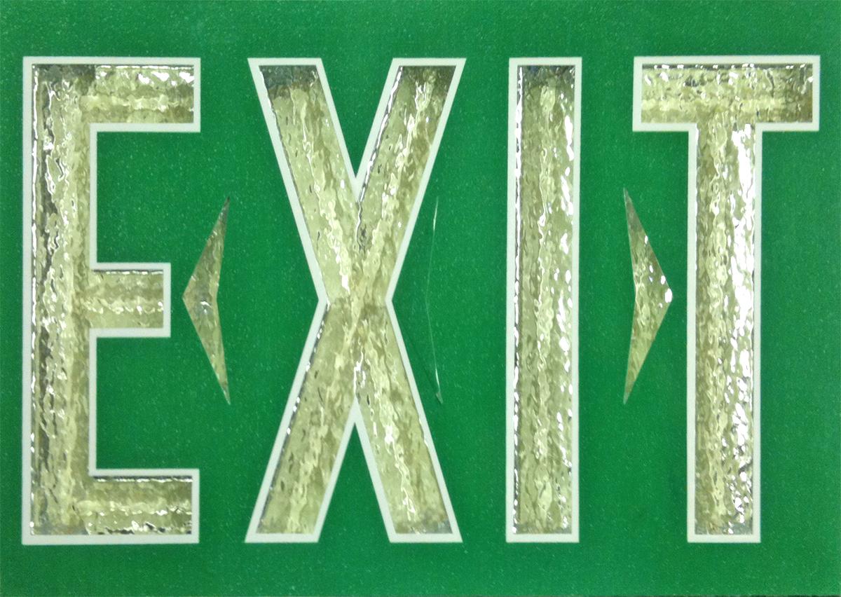 Tritium Exit Signs