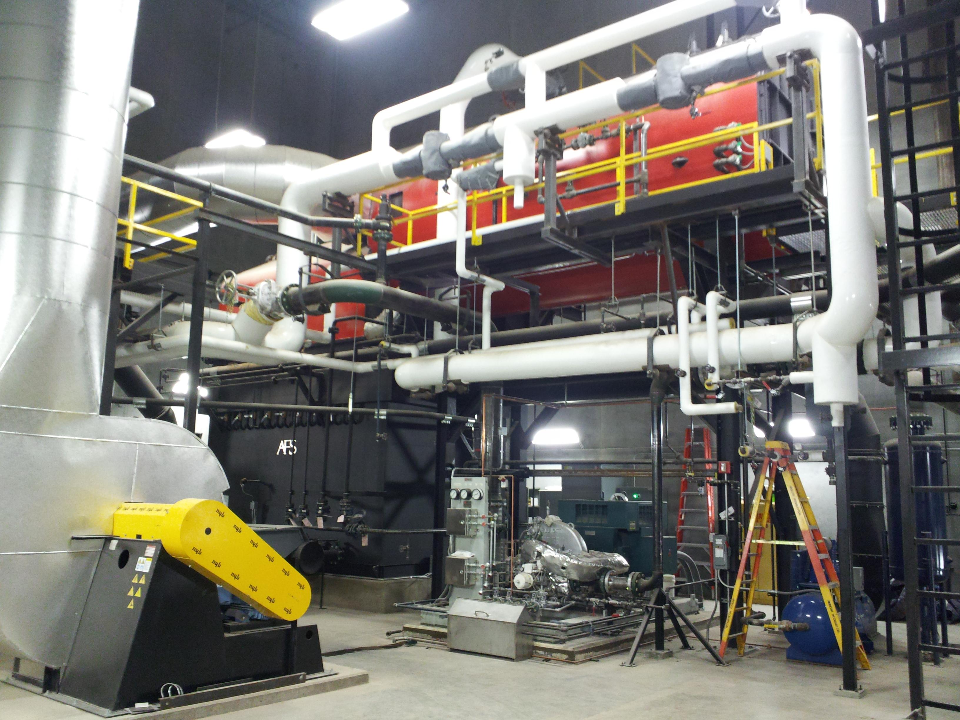Gundersen Lutheran Biomass Cogeneration