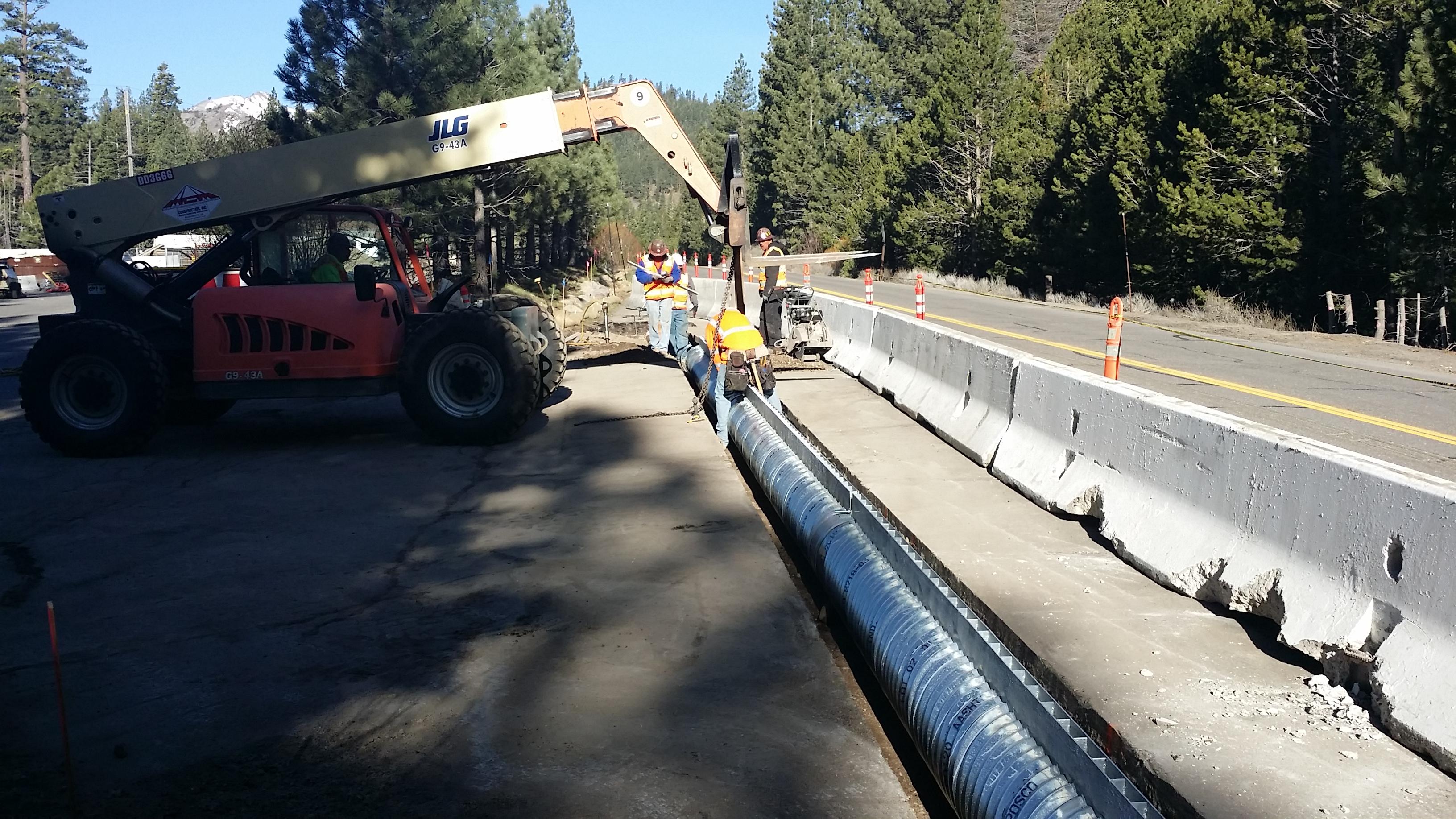 Alpine Meadows Road Bridge Replacement