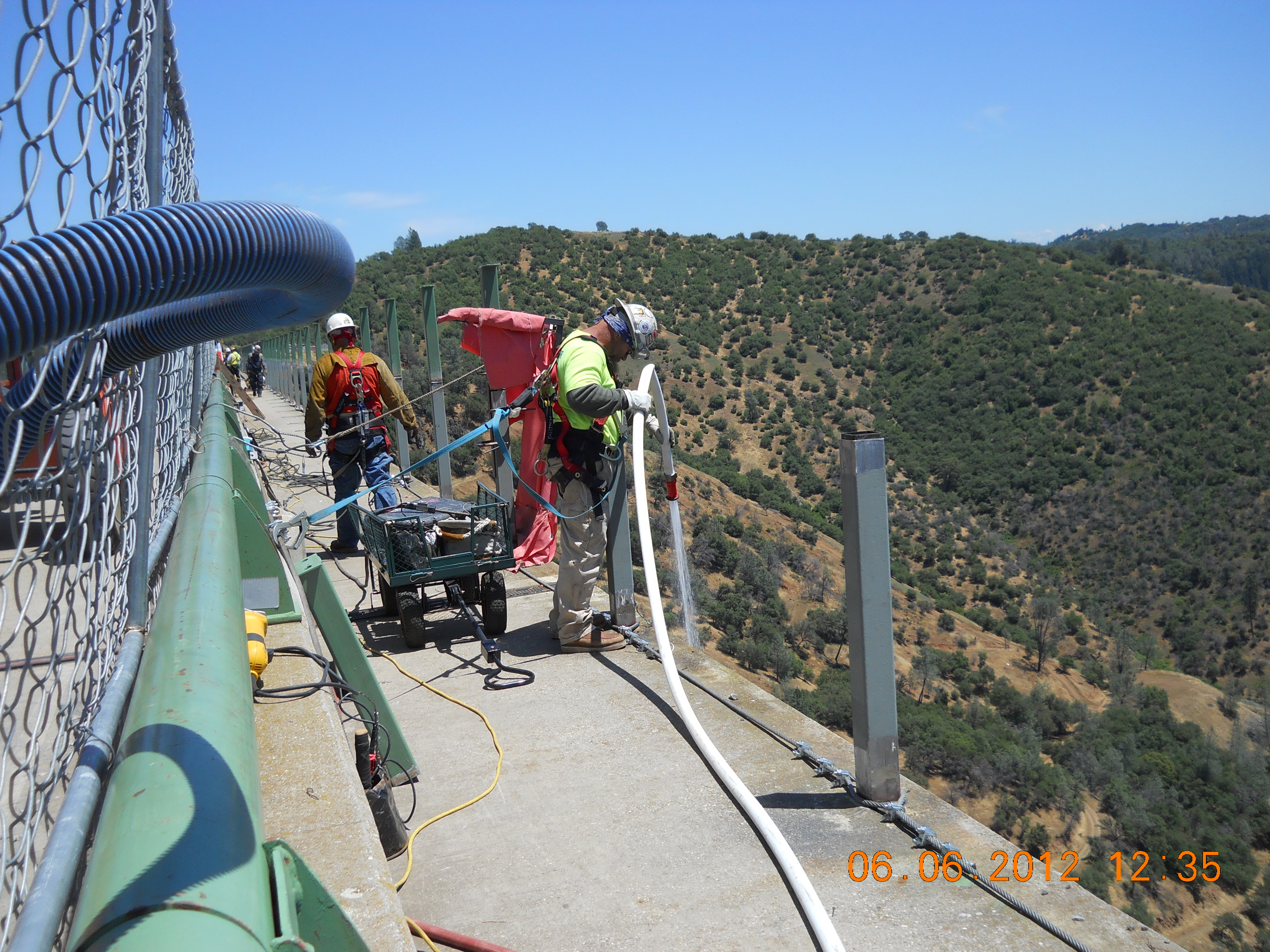 Foresthill Road Bridge Seismic Retrofit and Paint Project