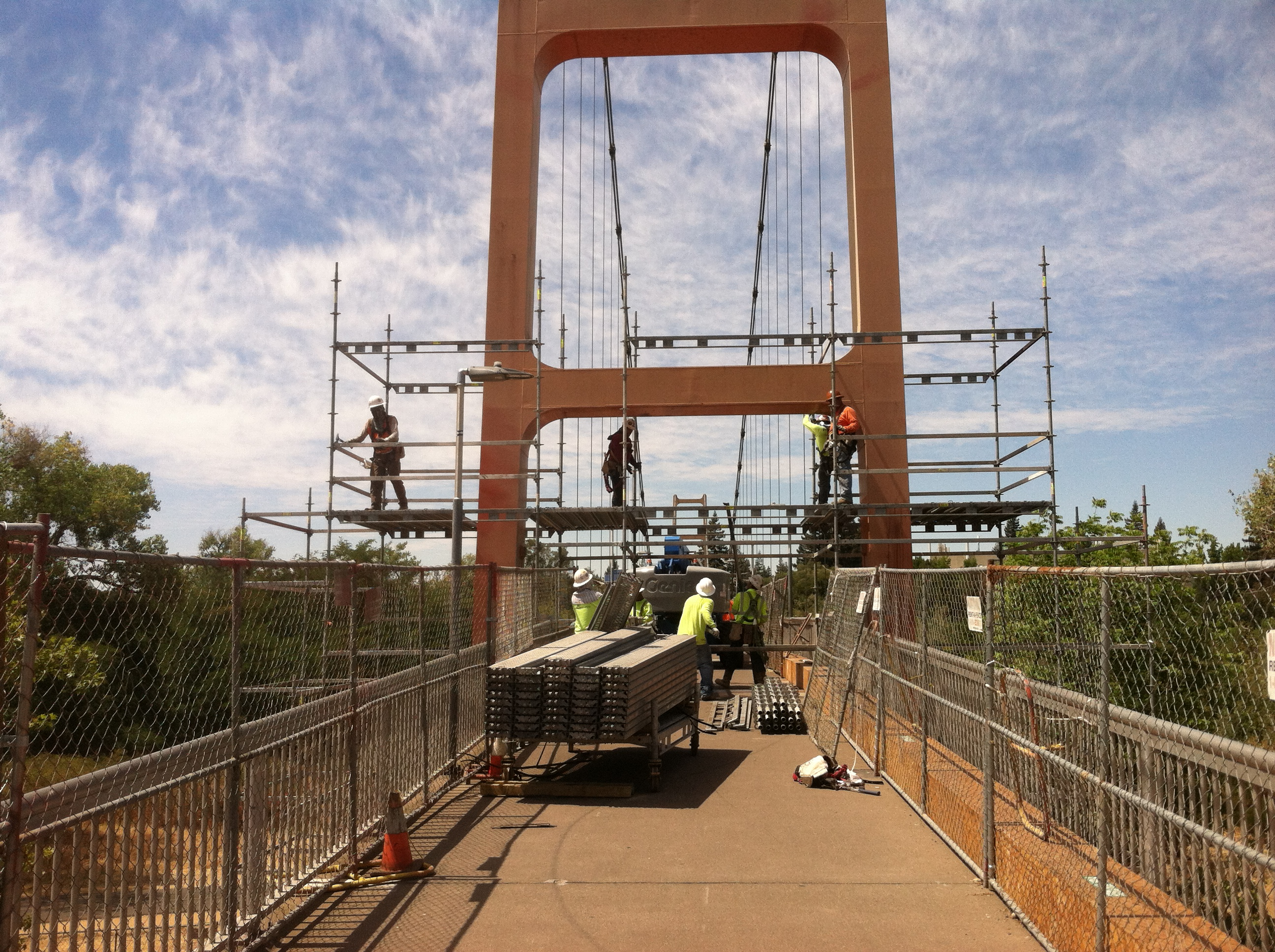 Guy West Bridge Painting and Rehabilitation