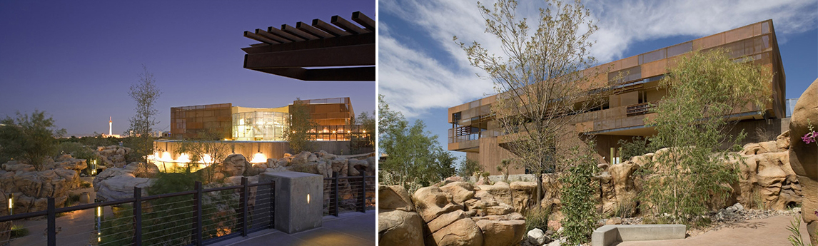 NV5 - Las Vegas Springs Preserve Visitor's Center - MEP Engineering