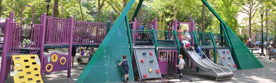 John Jay Park Playground