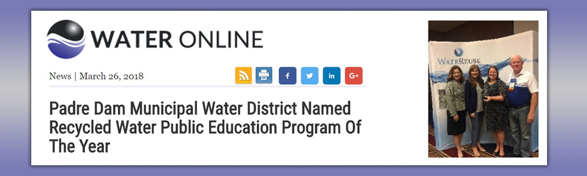 Advanced Water Purification Program Public Education Campaign