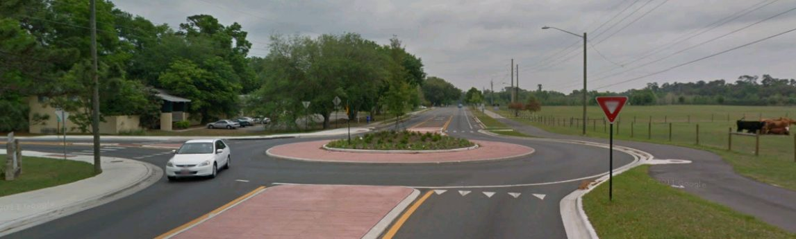 NV5 - SW 35th Place and SW 23rd Terrace Roundabout