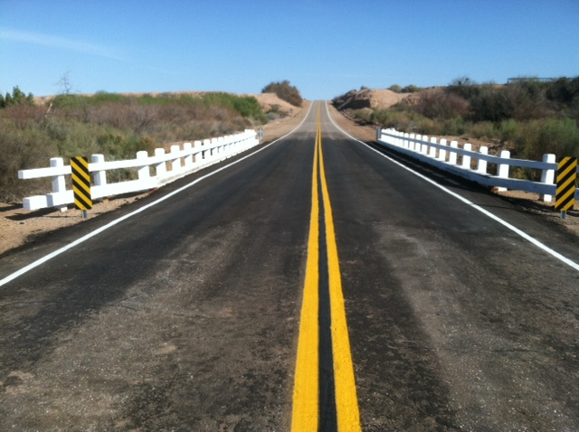 Clark Road Bridge over the New River