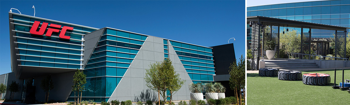 NV5 - UFC Headquarters Facility in Las Vegas