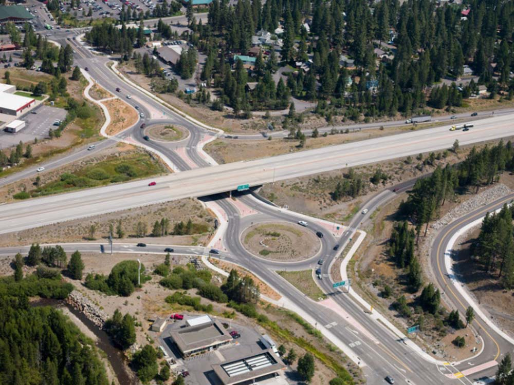 I-80 at SR-89 Roundabout
