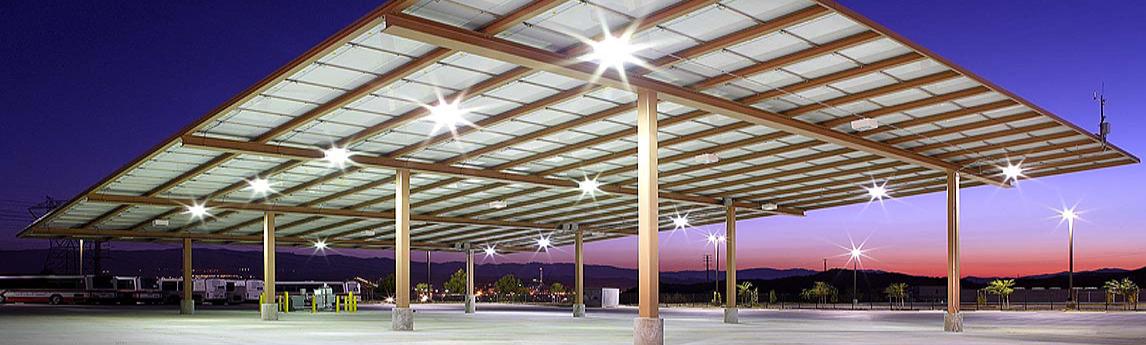 Santa Clarita Transit Maintenance Facility Solar Canopy