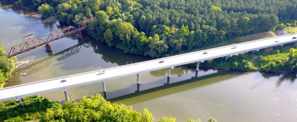 SC 5 Bridges over the Catawba River