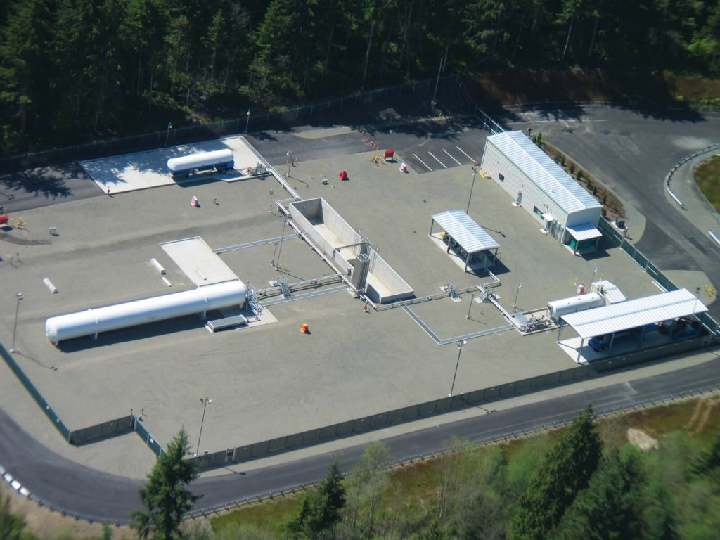 Grassroots Satellite LNG Facility