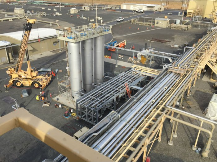 LNG Facility Liquefaction System