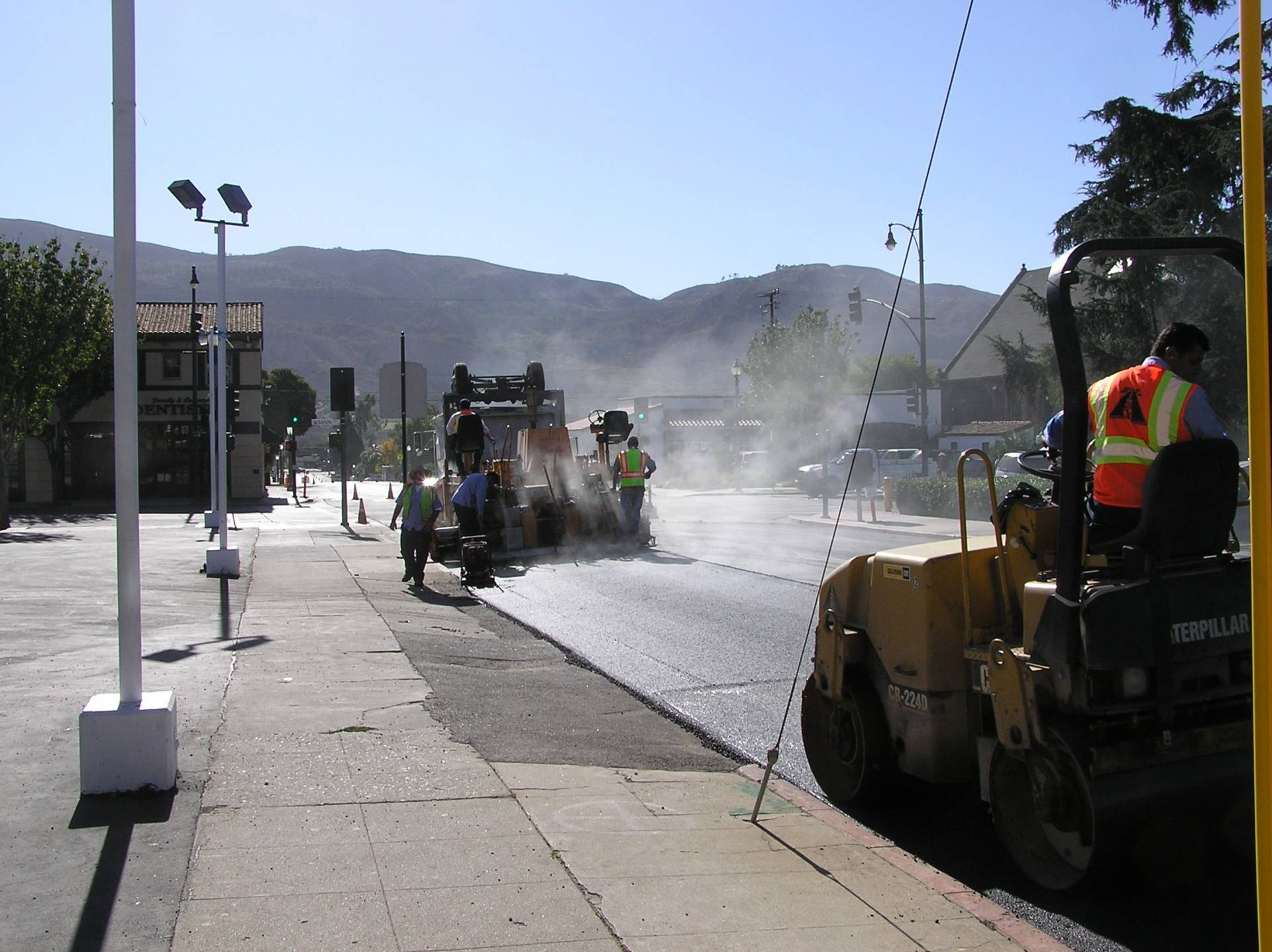 Santa Paula 8th Street Pavement Rehab