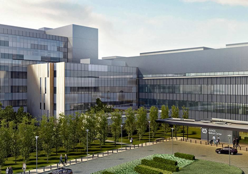 Rendering of New Orleans VA Hospital courtesy NBBJ