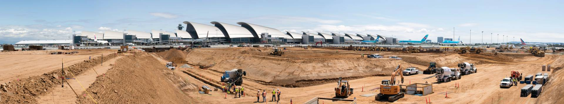LAX Midfield Satellite Concourse