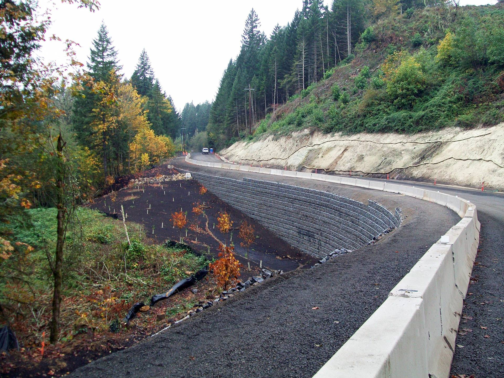 "North Fork Road ""Bear Trap"" Landslide"